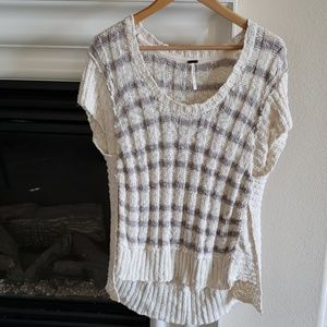 Free People Anthropologie Sweater Vest Top